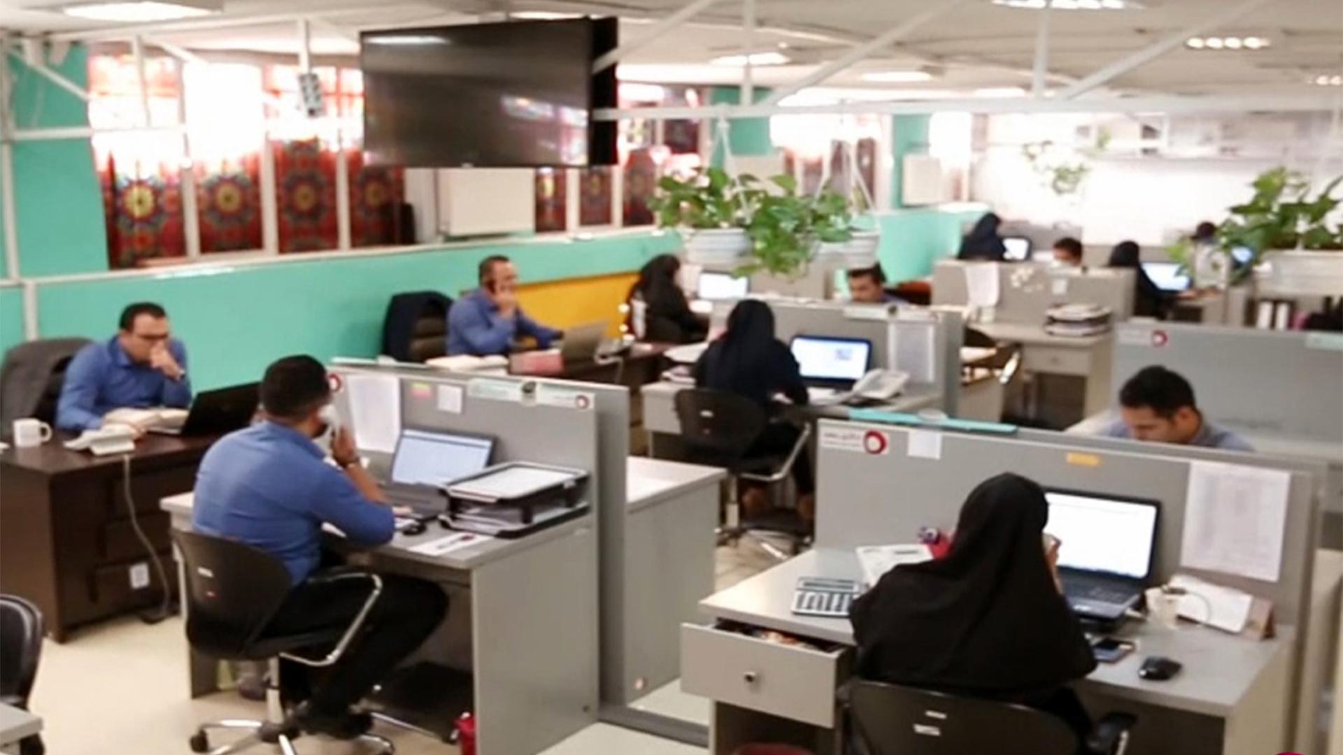فیلم کامل از دفتر مرکزی داتیس در تهران
