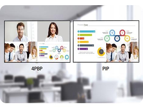 تصویر در تصویر (PIP) و تصویر در کنار تصویر (PBP)