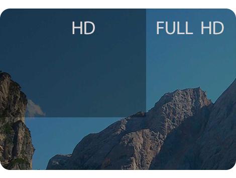 رزولوشن های ULTRA HD/FULL HD