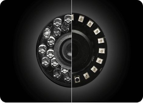 مقایسه ی LED های SMD و IR