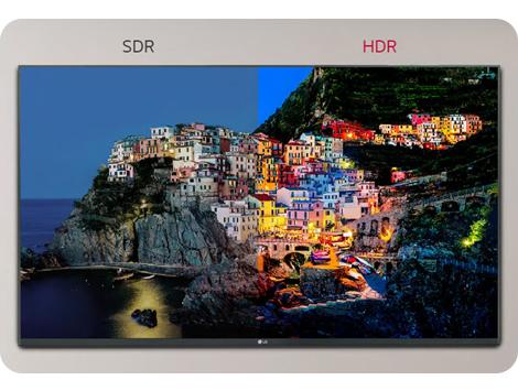 وضوح رنگ با پشتیبانی از HDR