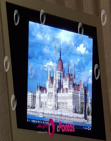نصب ویدئو وال در سالن مجلس شورای اسلامی