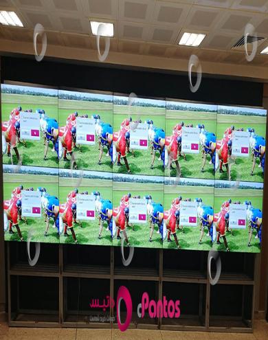 نصب ویدئو وال پنتوس در کمیته ملی پارالمپیک