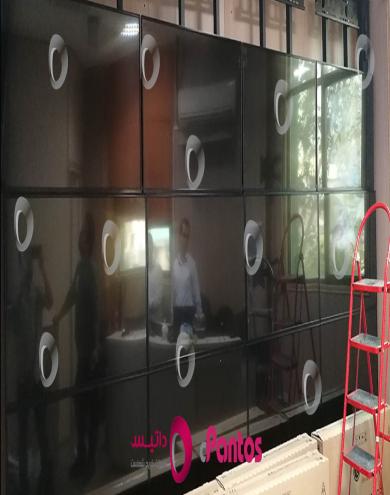 نصب ویدئو وال پنتوس در شرکت صنعتی و بازرگانی صحت