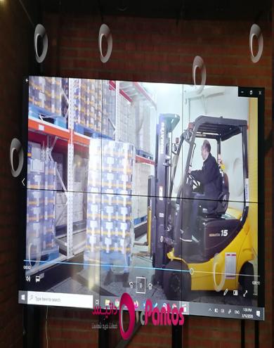 نصب ویدئو وال پنتوس در شرکت سیناژن